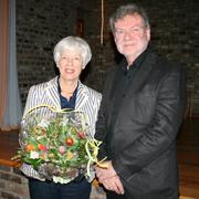 Dorothea Tewes übergibt ihr Amt an Klaus Andrees.